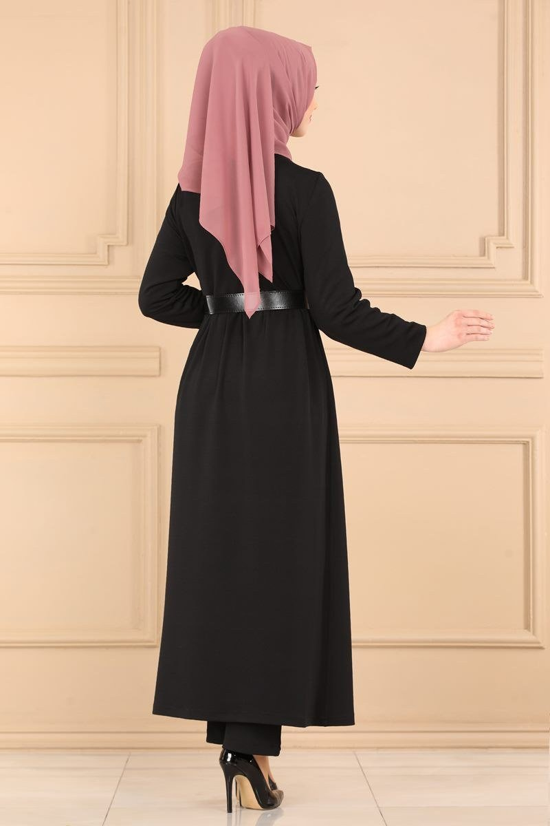 moda selvim 7044MP186 طقم اسود