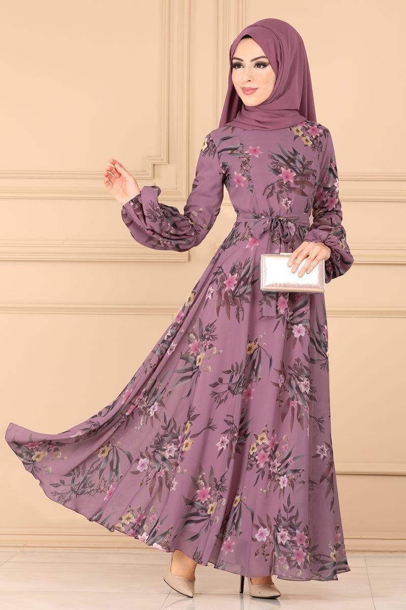 moda selvim Dress 6242YG95 Dried Rose