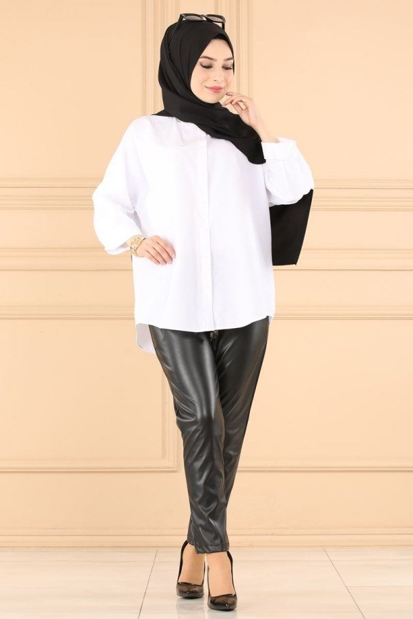Modaselvim Trousers Trousers 5000NS546 Black