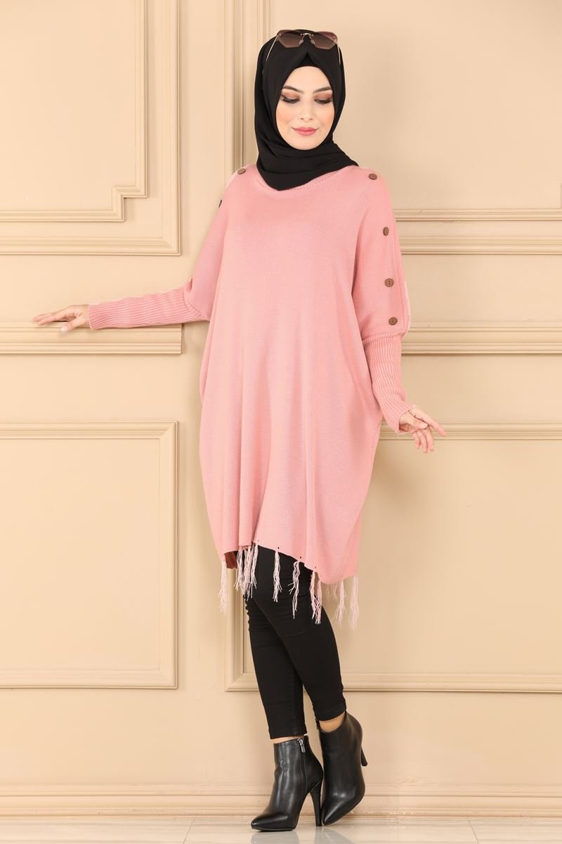 moda selvim Tunic 0100ALG474 Powder