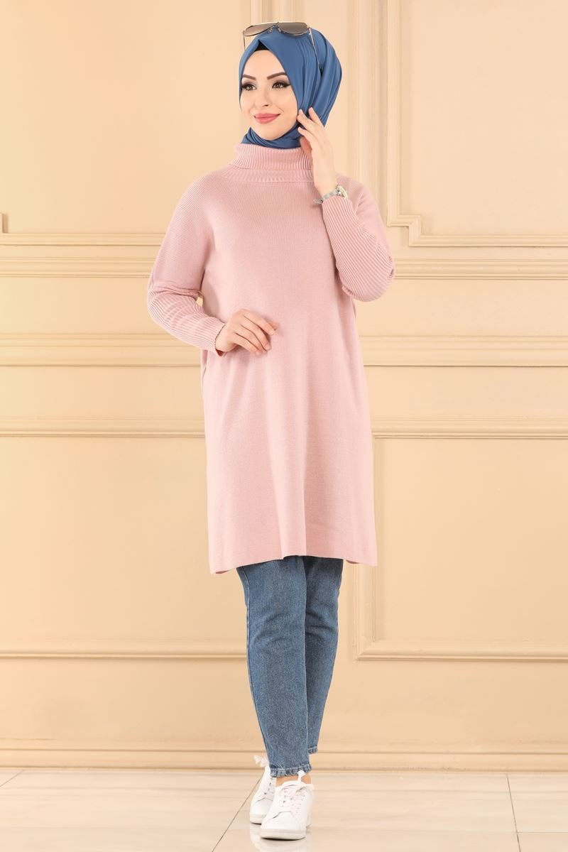 moda selvim Tunic 0114ALG474 Powder